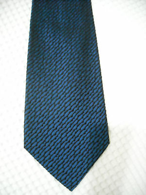 Gianni Versace - Cravatta - 100% Seta - Made In Italy - Blu - Necktie        002