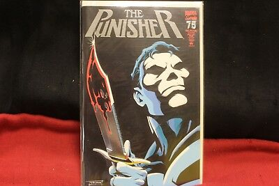 MARVEL COMICS THE PUNISHER # 75 FEB 1993 Embossed Silver Foil Cover