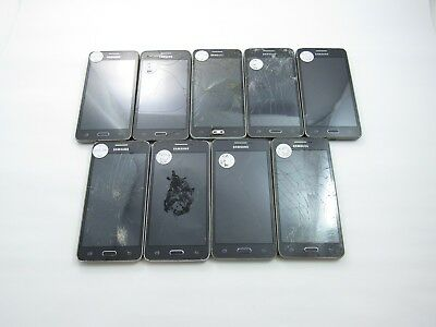 Parts&Repair Lot of 9 Samsung Galaxy Prime SM-G530T T-Mobile Check IMEI 4GL-1137