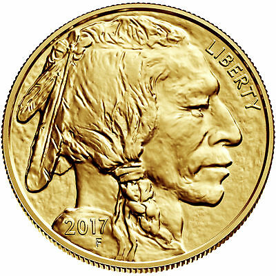 Wire Payment Only - Lot of 10 - 2017 $50 1oz Gold American Buffalo .9999 BU
