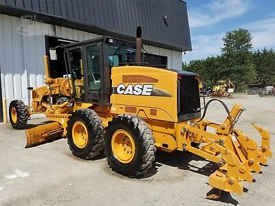 2010 Case 865 VHP motor grader Used only 494hr. Excellent condition.