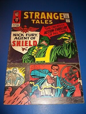 Strange Tales #135 Silver Age 1st Nick Fury Agent of Shield Wow Dr. Strange