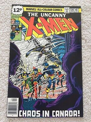 Uncanny X-Men #120 - 1St Appearance Of Alpha Flight -High Grade Vf/nm John Byrne
