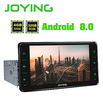 JOYING JY-UOS04P4 New Android 8.0 Oreo 64Bit PX5 Octa Core Single Din Car Radio