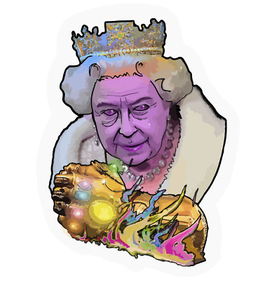 Infinity gauntlet Thanos Queen Sticker Decal Phone laptop Car Window art 20103