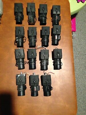 Navco 4850DN Digital CCD CCTV Security Color Camera lot of 15