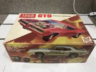 Mpc 1968 Pontiac Gto Ht Original Box Only! Kit#1168! Circa 1968!