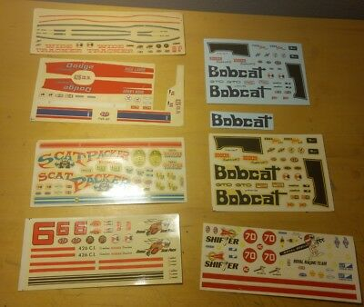 Vintage Decal Lot