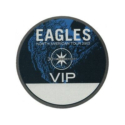 The Eagles authentic VIP 2002 tour Backstage Pass