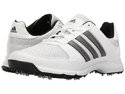 wholesale dealer 4823c 763a2 Adidas Mens Golftech Response White Silver Black Wide Shoes 2018 free Post  Aust