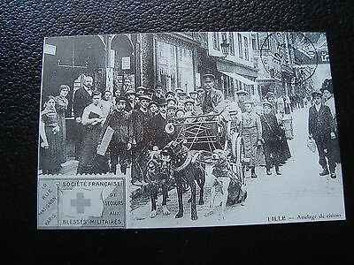 FRANCE - card (reproduction) (lille , coupling dogs) (cy68) french