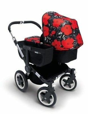 Bugaboo Donkey Pram Tailored Fabric Set Andy Warhol Flowers Special Edition $289