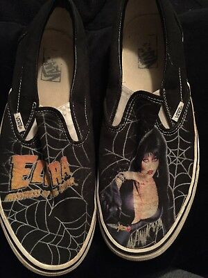 Official Elvira Mistress Of The Dark Vans Mens Size 11
