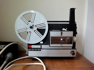Vintage Hanimex 200D 8mm Movie Projector