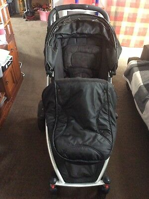Steelcraft Strider Plus Double Pram In Very Good Condition.