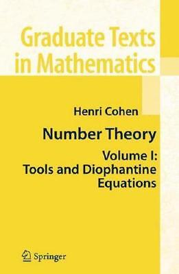 Number Theory by Henri Cohen (author)