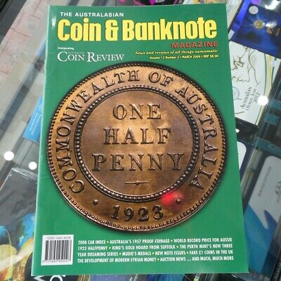 Australasian Coin & Banknote CAB Magazine Vol 12 No 2 March 2009 Coin Review