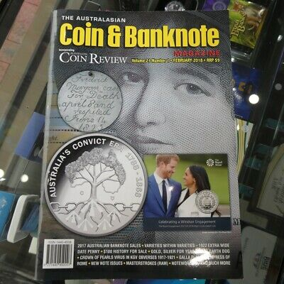 Australasian Coin & Banknote CAB Magazine Vol 21 No 01 February 2018 Coin Review