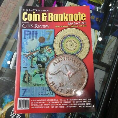 Australasian Coin & Banknote CAB Magazine Vol 20 No 05 June 2017 Coin Review