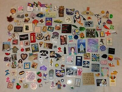 140+ Vintage Lot Refrigerator Magnets Food Disney Collectible Random Funny L2