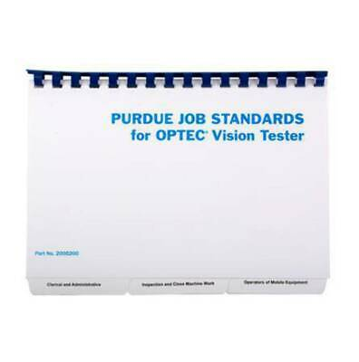 Misc - Purdue Job Standards Book w/ 5 Pads of Recording Forms