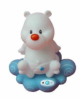 Primo Baby Voice Activated Night Light Music Heart Beat Rain Bear  IPOD Hook Up