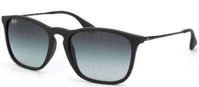 New Authentic Ray-Ban Sunglasses CHRIS RB 4187 622/8G 54 Black Grey Gradient