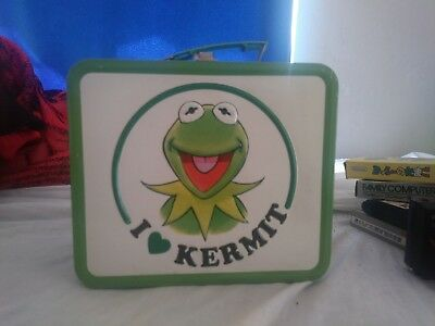 Kermit The Frog Lunch Box Tin I Love Kermit Muppet Show