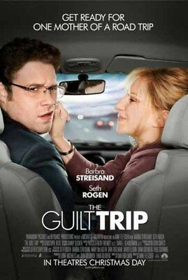 GUILT TRIP great original 27x40 D/S movie poster (s001)