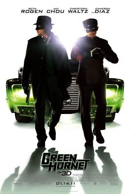 THE GREEN HORNET great original 27x40 D/S movie poster (s001)