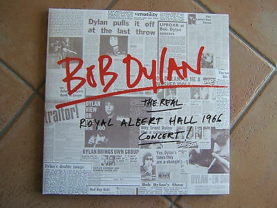 BOB DYLAN - The Real Royal Albert Hall 1966 Concert, DoLP **neuwertig**