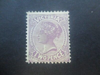 Victoria Stamps: 1901 2d Purple  Mint   (m93)