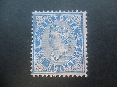 Victoria Stamps: 1901 2/- Blue   Mint   (m95)