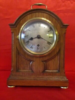Edwardian chain fusee pad top library clock
