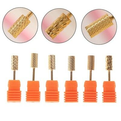 "Pro 3/32"" Carbide Electric Nail Drill Bits Grinding Manicure Nails Pedicure Tool"