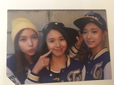 Twice Photocard Mina Chaeyoung Tzuyu Unit Ver Page Two