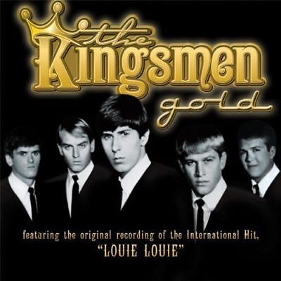 The Kingsmen Band Gold Album CD NEW Berry Louie Louie greatest hits Gift Best of