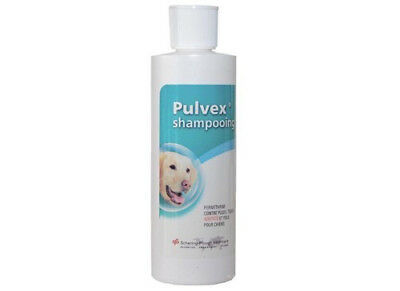 Shampoing Pulvex antiparasitaire pour chiens