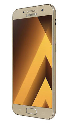 Samsung Galaxy A3 (2017) in Gold Handy Dummy Attrappe - Requisit, Deko, Muster