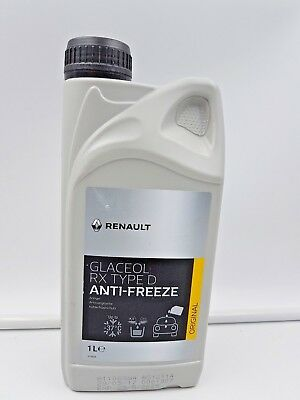 Anticongelante Renault Glaceol Rx Type D Original 1 Litro Anti Freeze 7711428132