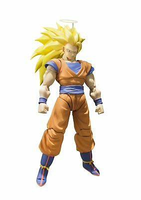 Bandai Tamashii Nations S.H. Figuarts Super Saiyan 3 Son Goku Dragon Ball... New