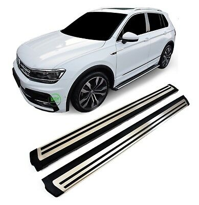 VW TIGUAN mk2  2017-up New Running Boards Side Steps Original OE style