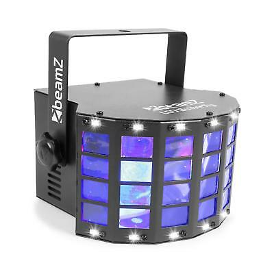 Beamz Projecteur LED Stroboscope Effet Butterfly  3xLED 3W + 14 LED strobes SMD