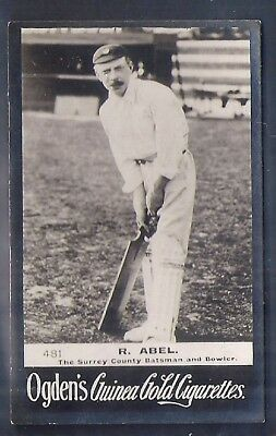 Ogdens Guinea Golds-#0481- Cricket - Surrey - Abel