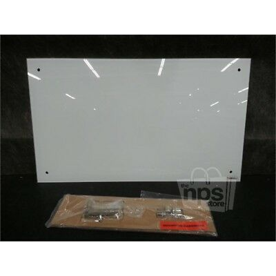 """Lorell 52505 Glass Dry-erase Board, 17.5"""" x 30"""" Frost Glass Surface"""