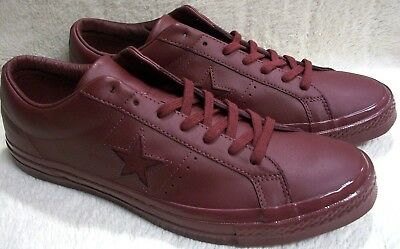 4edb657cbdebb Converse 155715C One Star 74 OX Deep Bordeaux Men s 12 - Womens 14 Mfg Ret   75