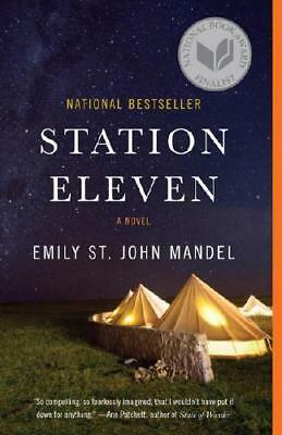 Station Eleven by Emily St. John Mandel (author)