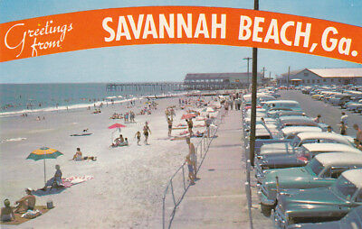 Savannah Beach Georgia 1950 60s
