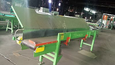 """18"""" x 14' BELT CONVEYOR, S-DRIVE BOLTED, w/drive"""
