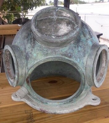 Germany original Diving  DRAGER 3-bolt diving helmet